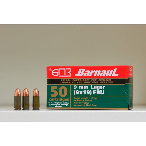 Nabój kulowy BARNAUL 5,45x39 3,8g FMJ (1 opakowanie 30 szt.)